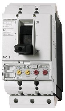 1 Stk Leistungsschalter Type ME, 3-polig, 100kA, 140A, steckbar MC214337S-