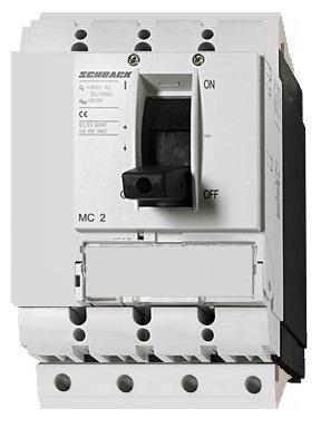 1 Stk Lasttrenner, 4-polig, 160A, fernauslösbar, steckbar MC216045S-