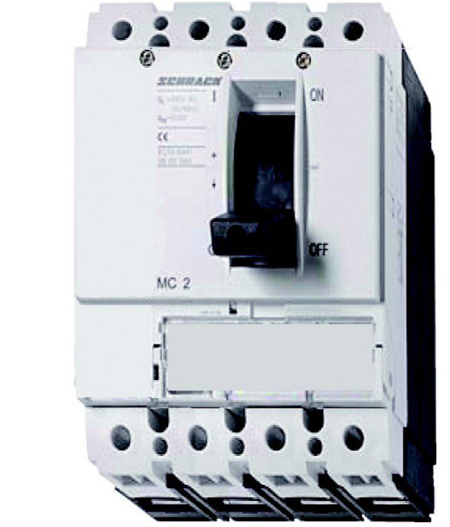 1 Stk Lasttrenner, 2/4-polig, 200A, fernauslösbar, 1kVDC MC220045DC