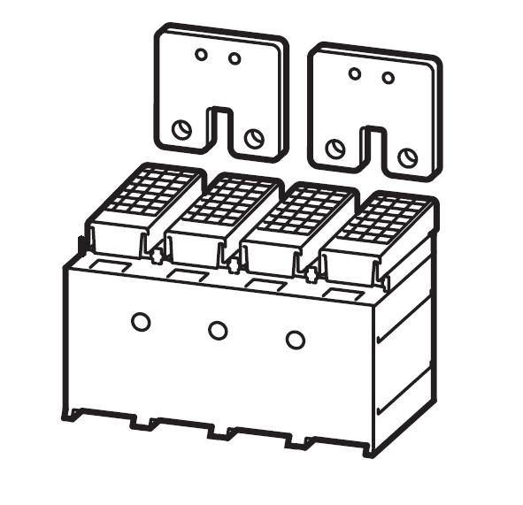 1 Stk Serienverbinder Gr. 2, 4/2-polig, inklusive Abdeckung MC290602--