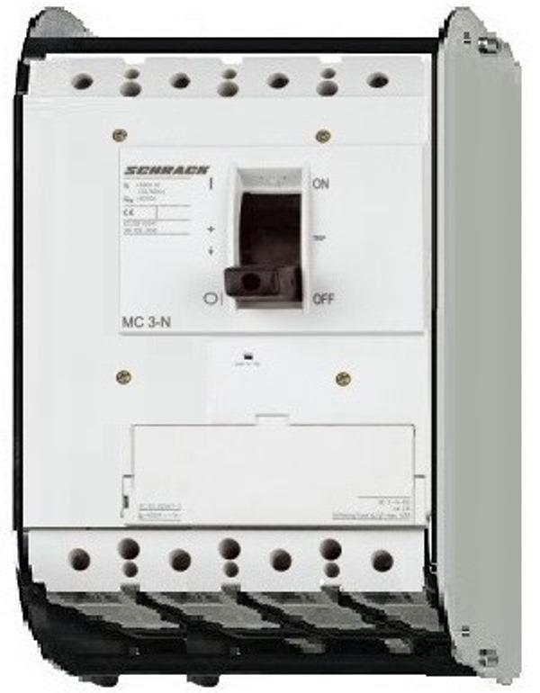 1 Stk Lasttrenner, 4-polig 400A, fernauslösbar, ausfahrbar MC340045A-