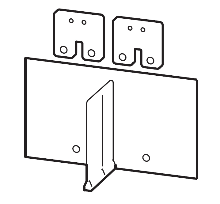 1 Stk Serienverbinder Gr.3, 4/2-polig, isoliert MC390599--