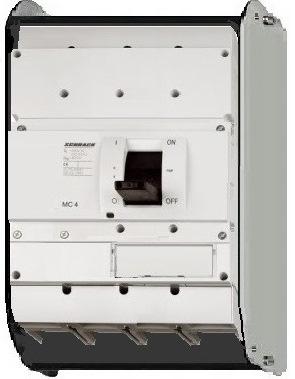 1 Stk Lasttrenner, 4-polig, 1600A, fernauslösbar, ausfahrbar MC416045A-