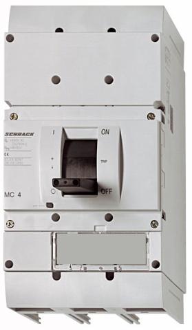 1 Stk Lasttrenner, 4-polig, 800A, fernauslösbar, ausfahrbar MC480045A-