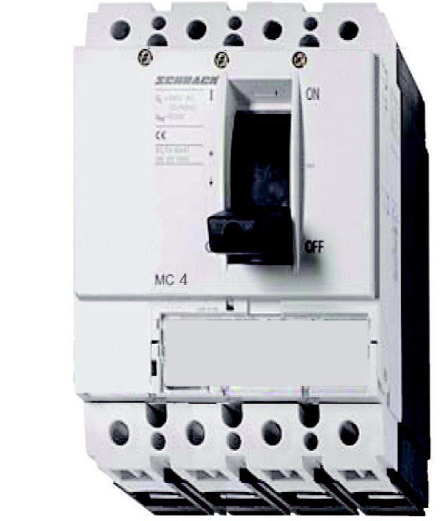 1 Stk Lasttrenner, 2/4-polig, 800A, fernauslösbar, 1kVDC MC480045DC