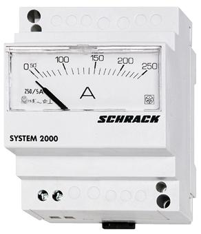 1 Stk Amperemeter, Reiheneinbau, DC, 10A, direkt MG154010--