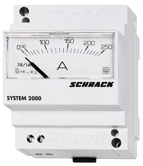 1 Stk Amperemeter, Reiheneinbau, AC, 5A, direkt MG159005--