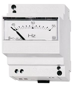 1 Stk Frequenzmesser, Reiheneinbau, 400V, 45-55Hz MG359055--
