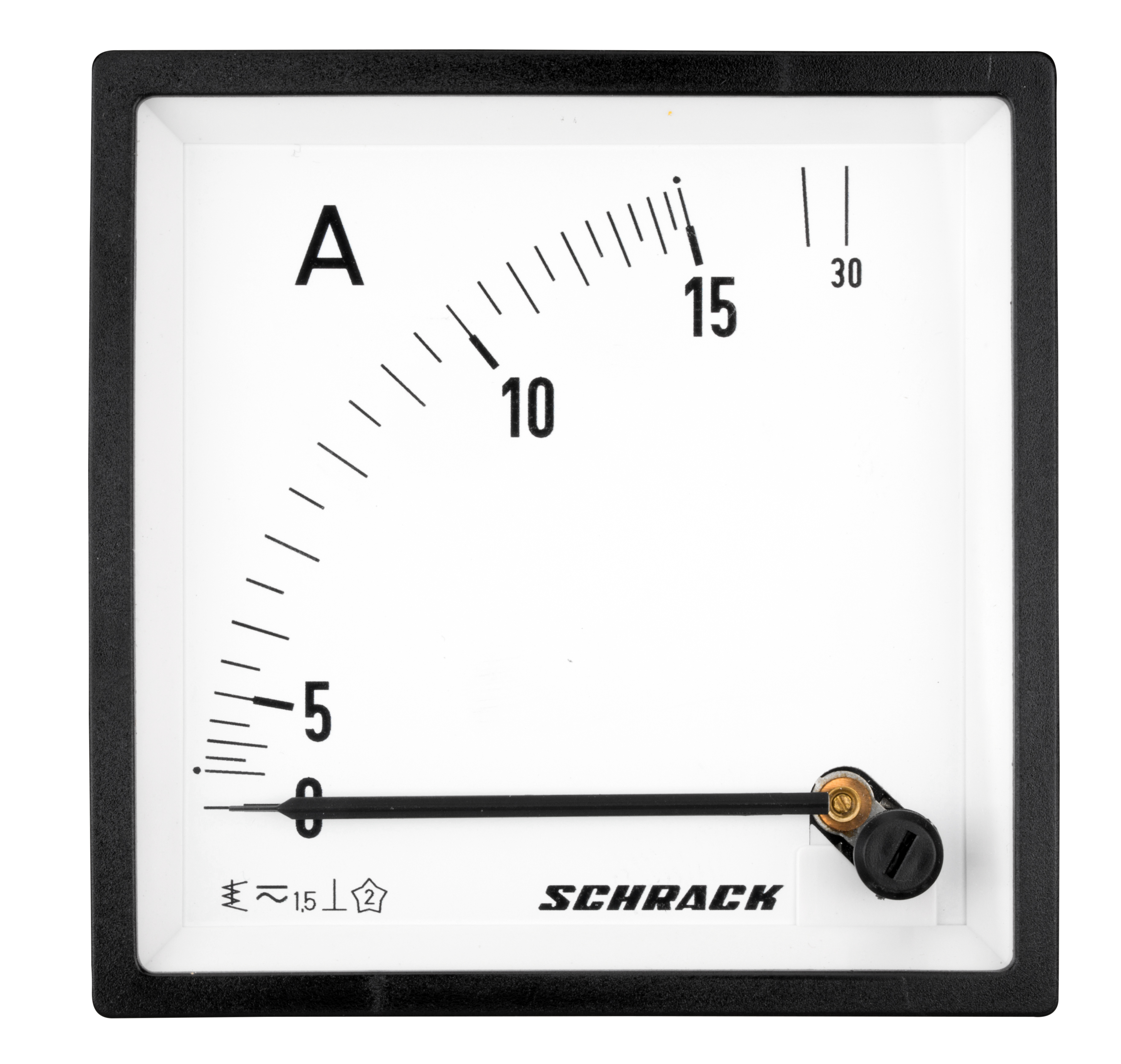 1 Stk Amperemeter, 96x96mm, 15A AC Direktmessung MGF59015-A