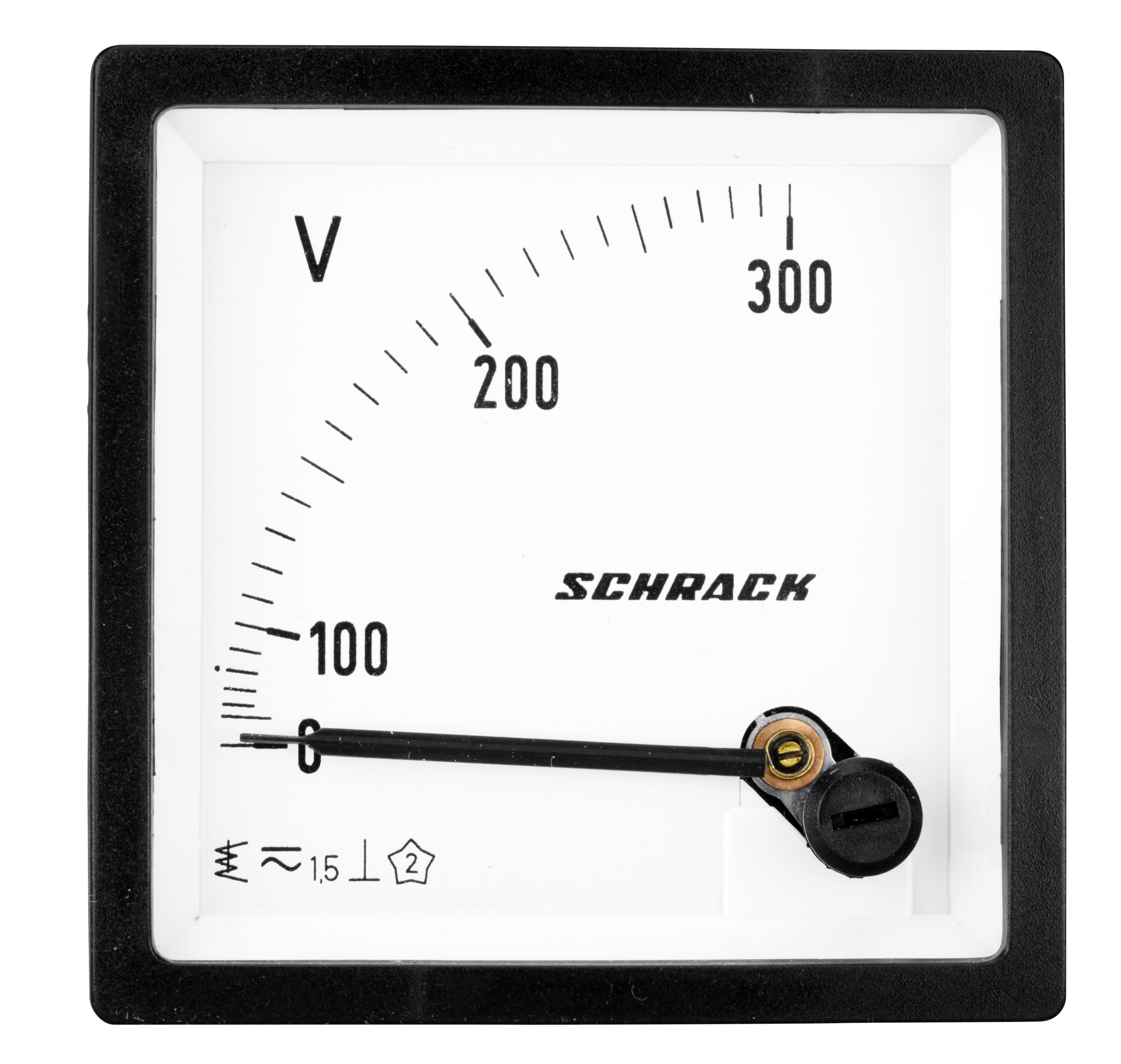 1 Stk Voltmeter, 72x72mm, 300V AC MGF67300-A