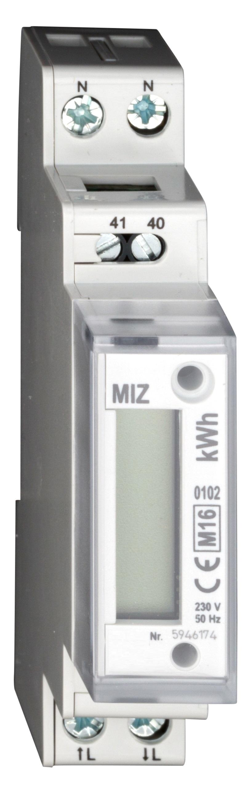 1 Stk Digitaler Zähler 1 phasig 32A, 1 TE m. MID MGMIZ132--