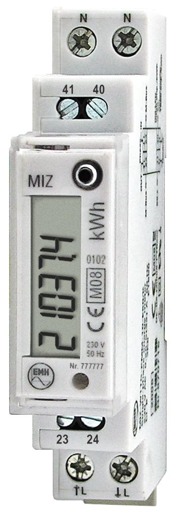 1 Stk Digitaler Zähler 1 phasig 32A, 1 TE m. MID und M-BUS MGMIZ632--