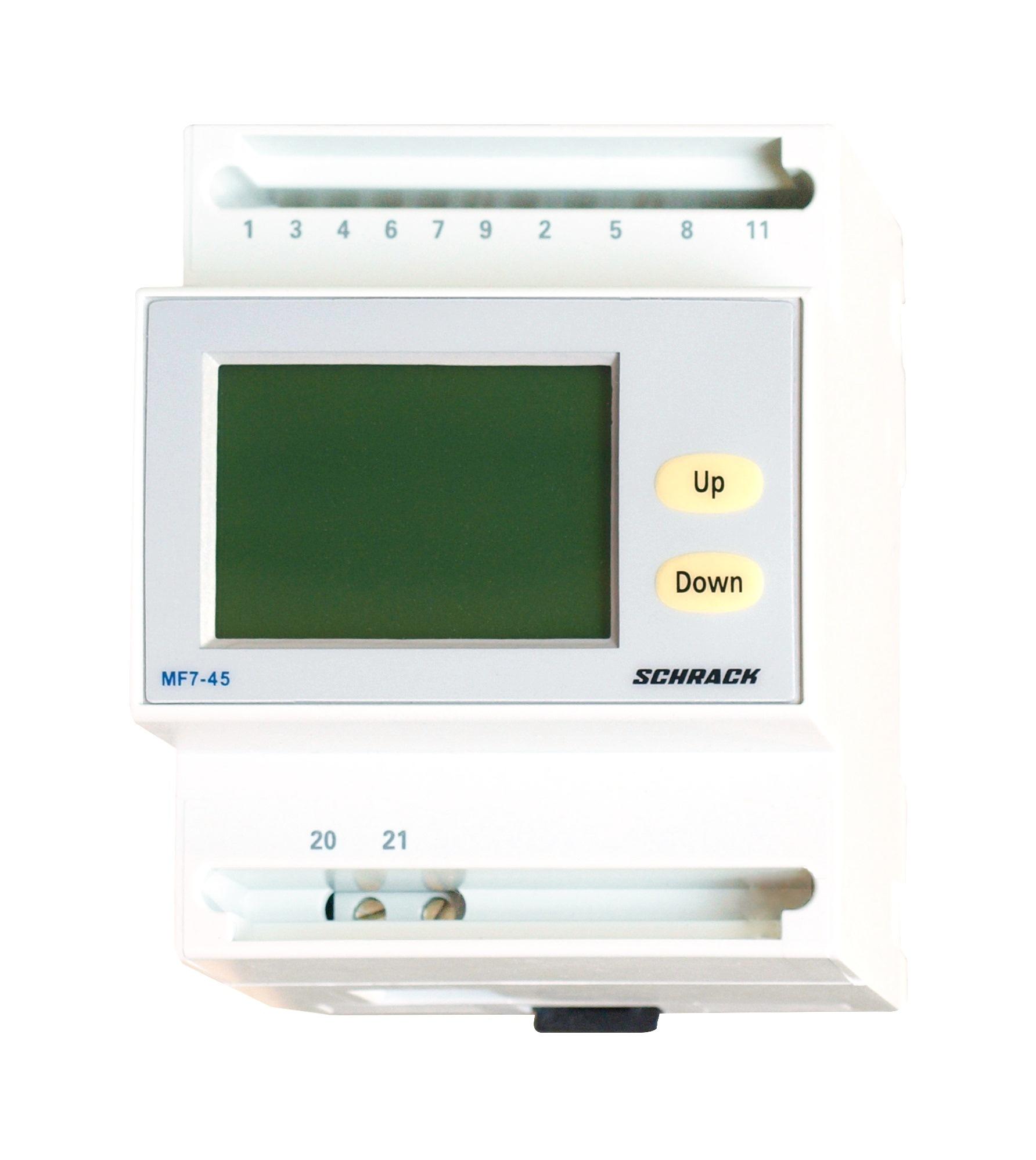 1 Stk Reiheneinbau Netzanalysator MF7-45, wandleranschluß MGR30000--
