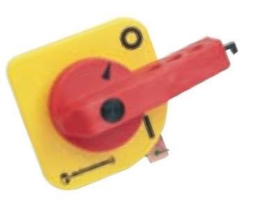 1 Stk Türkupplungsdrehgriff rot/gelb für ML11/12 ML180020--