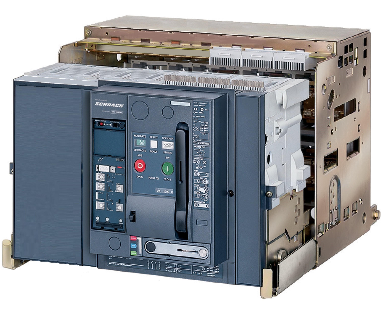 1 Stk Leistungsschalter, MO2, 4-polig, 2000A, 66kA, ausfahrbar, RH MO220246--