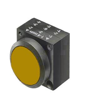1 Stk Drucktaste rastend, gelb MST13000R-