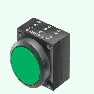 1 Stk Drucktaste rastend, grün MST14000R-