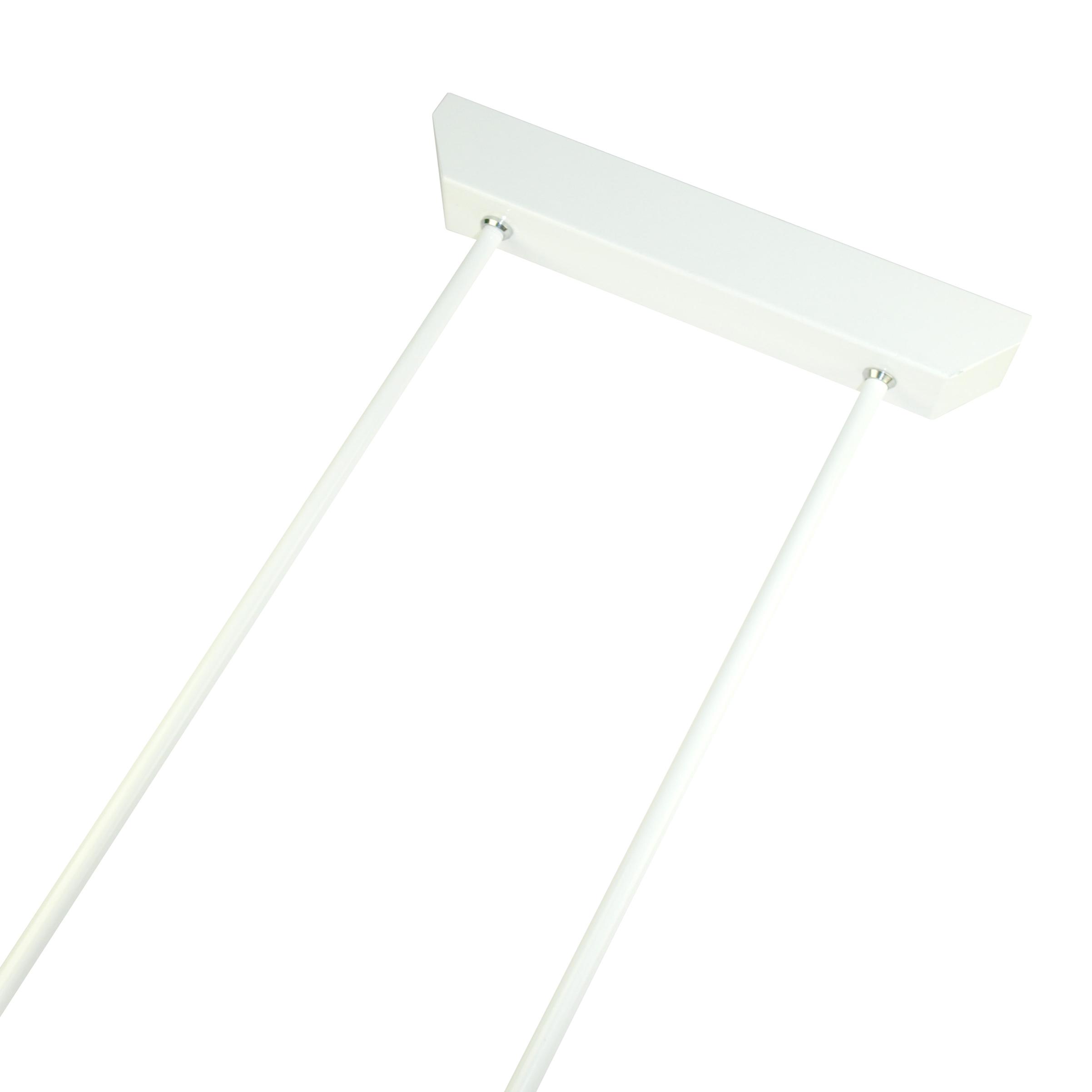 1 Stk Design-Pendelpaar 500mm weiß verdrahtet NL2DW-----
