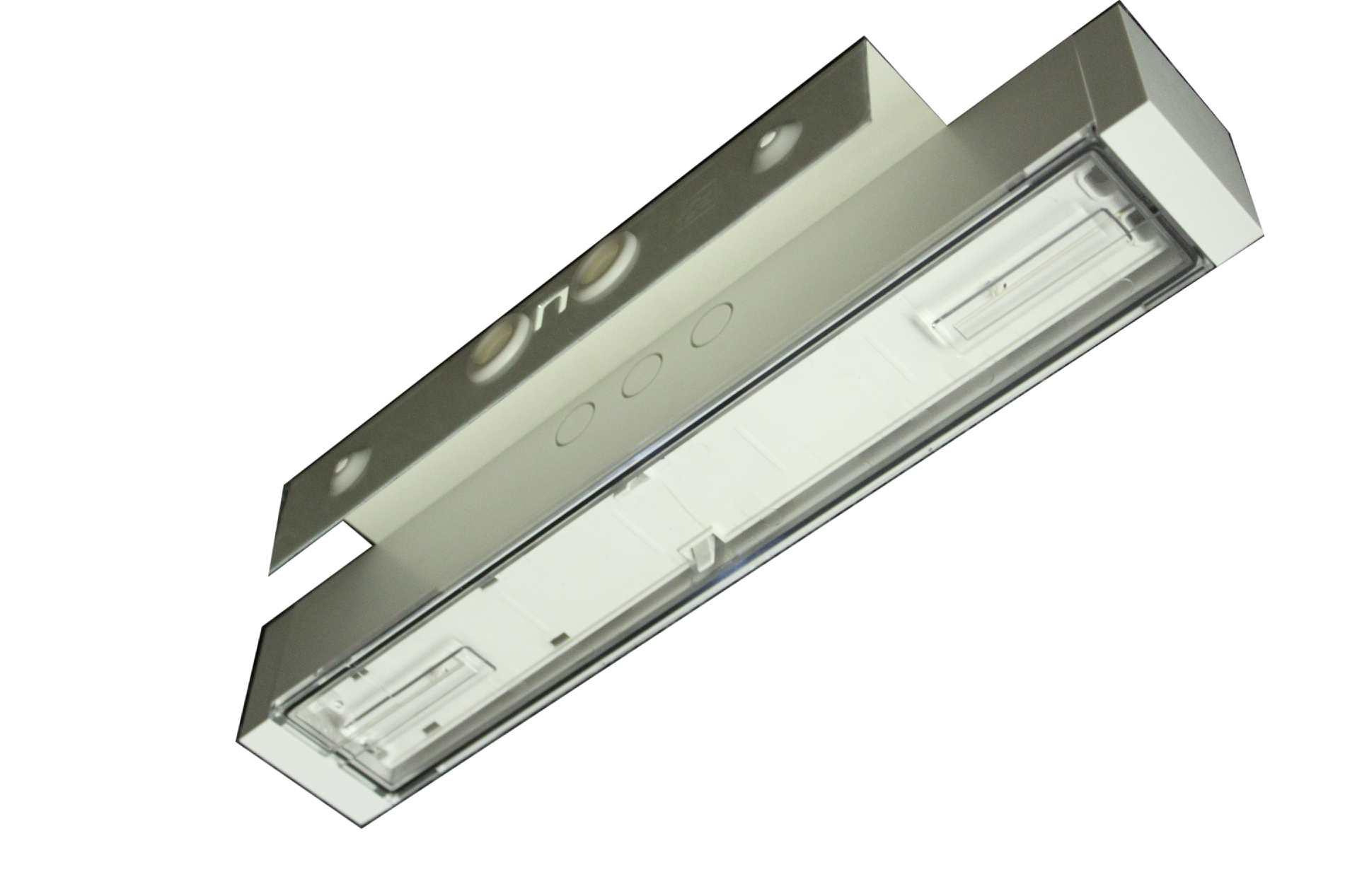 1 Stk Parallelwandausleger weiß, passend für: KB NLAWW008--