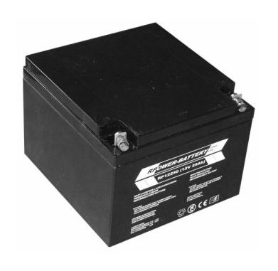 Batterie RPower OGiV longlife bis 12 Jahre 12V/30Ah (C20)