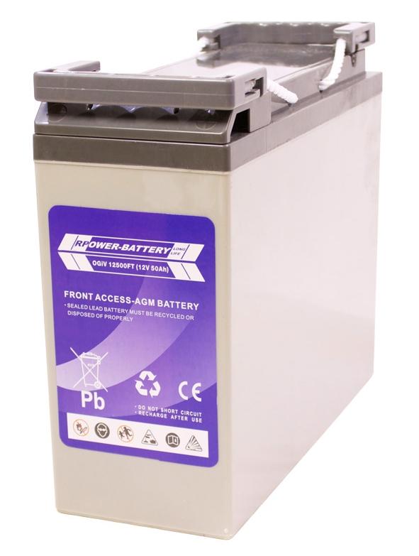 Batterie RPower Front Terminal OGiV 12V/58Ah (C20)