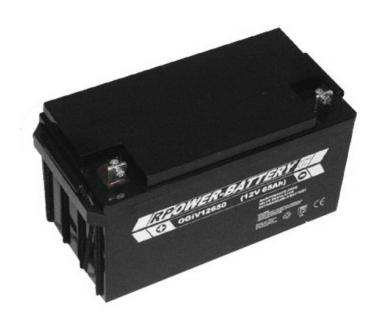Batterie RPower OGiV longlife bis 12 Jahre 12V/81Ah (C20)
