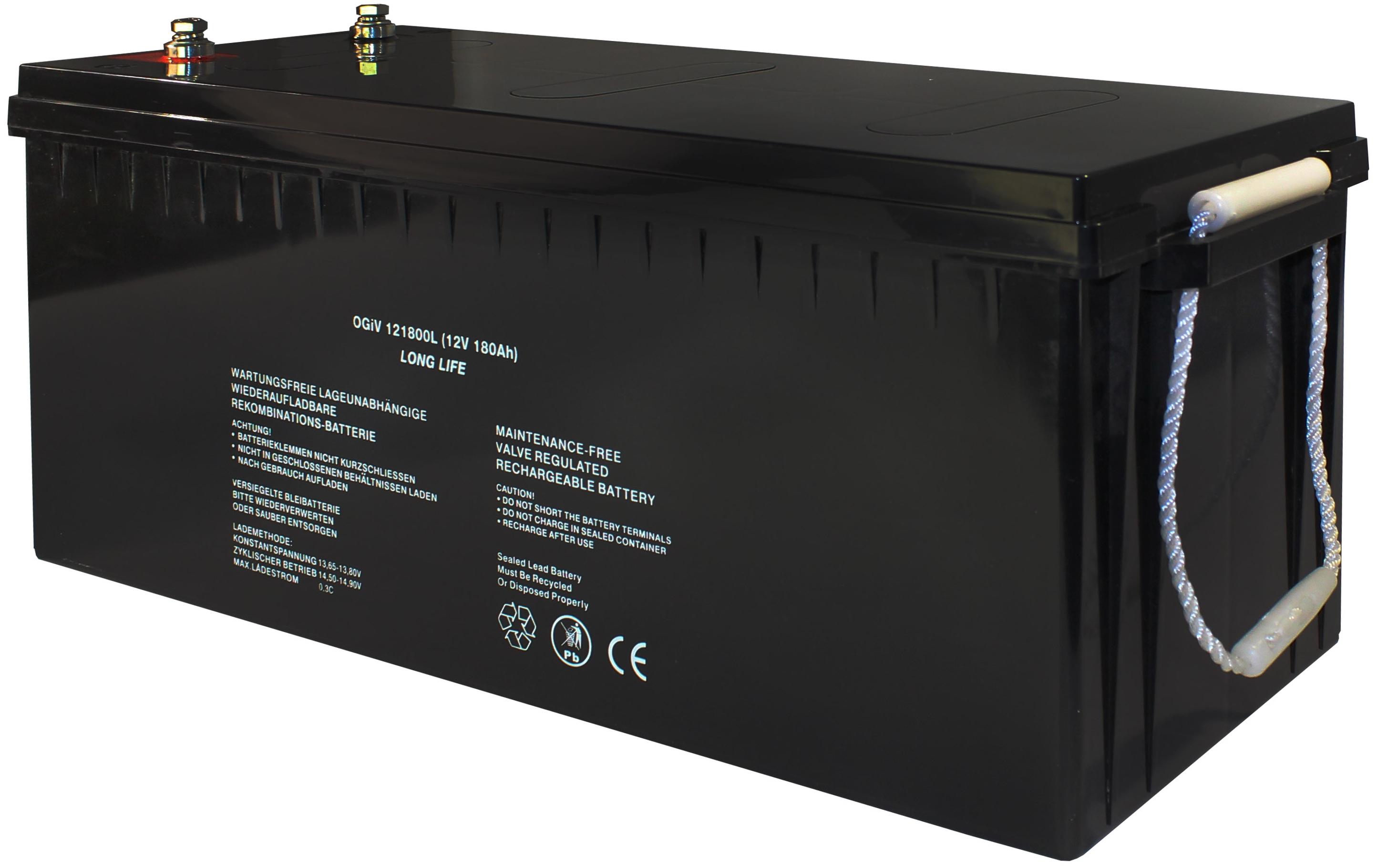 Batterie RPower OGiV longlife bis 12 Jahre 12V/84Ah (C20)