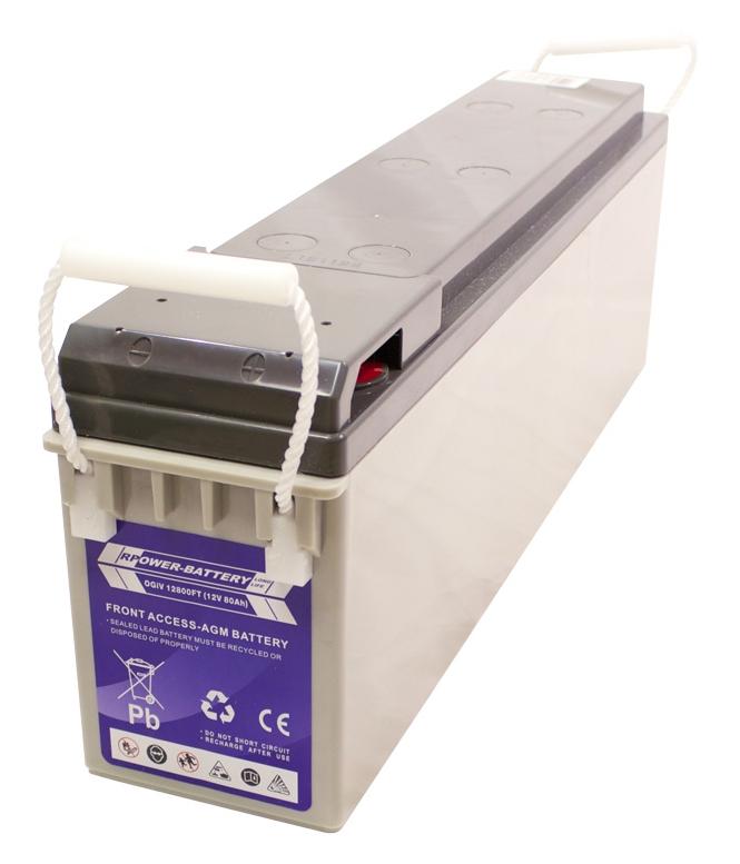 Batterie RPower Front Terminal OGiV 12V/80Ah (C20)