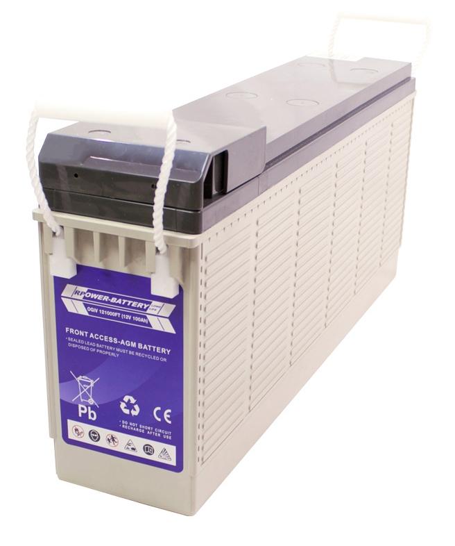 Batterie RPower Front Terminal OGiV 12V/110Ah (C20)