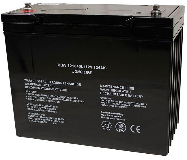 Batterie RPower OGiV longlife bis 12 Jahre 12V/141Ah (C20)