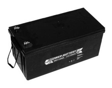 Batterie RPower OGiV longlife bis 12 Jahre 12V/262Ah (C20)