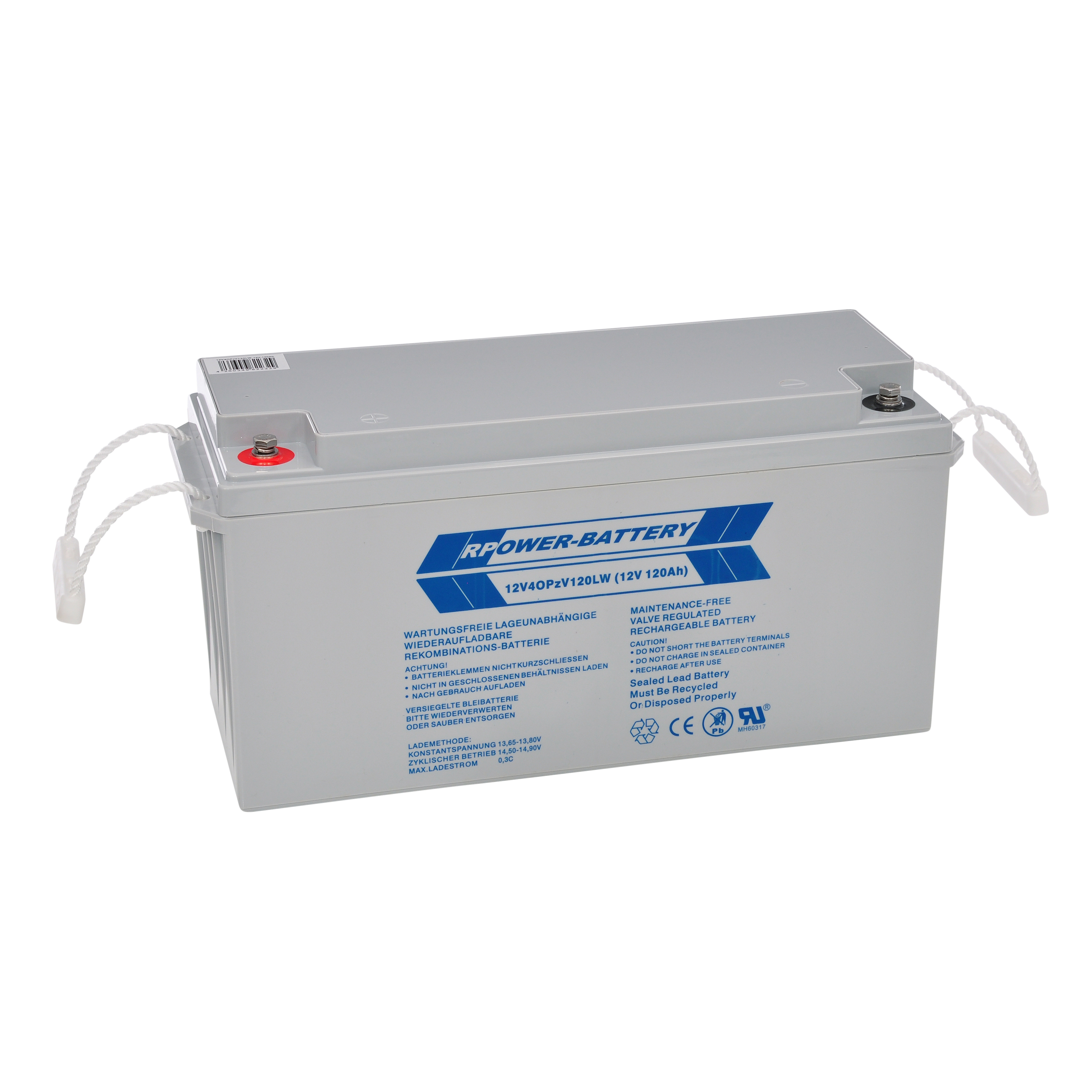 Batteriesatz 216V 18 Stk, longlife OPzV 12V/120Ah (C10)