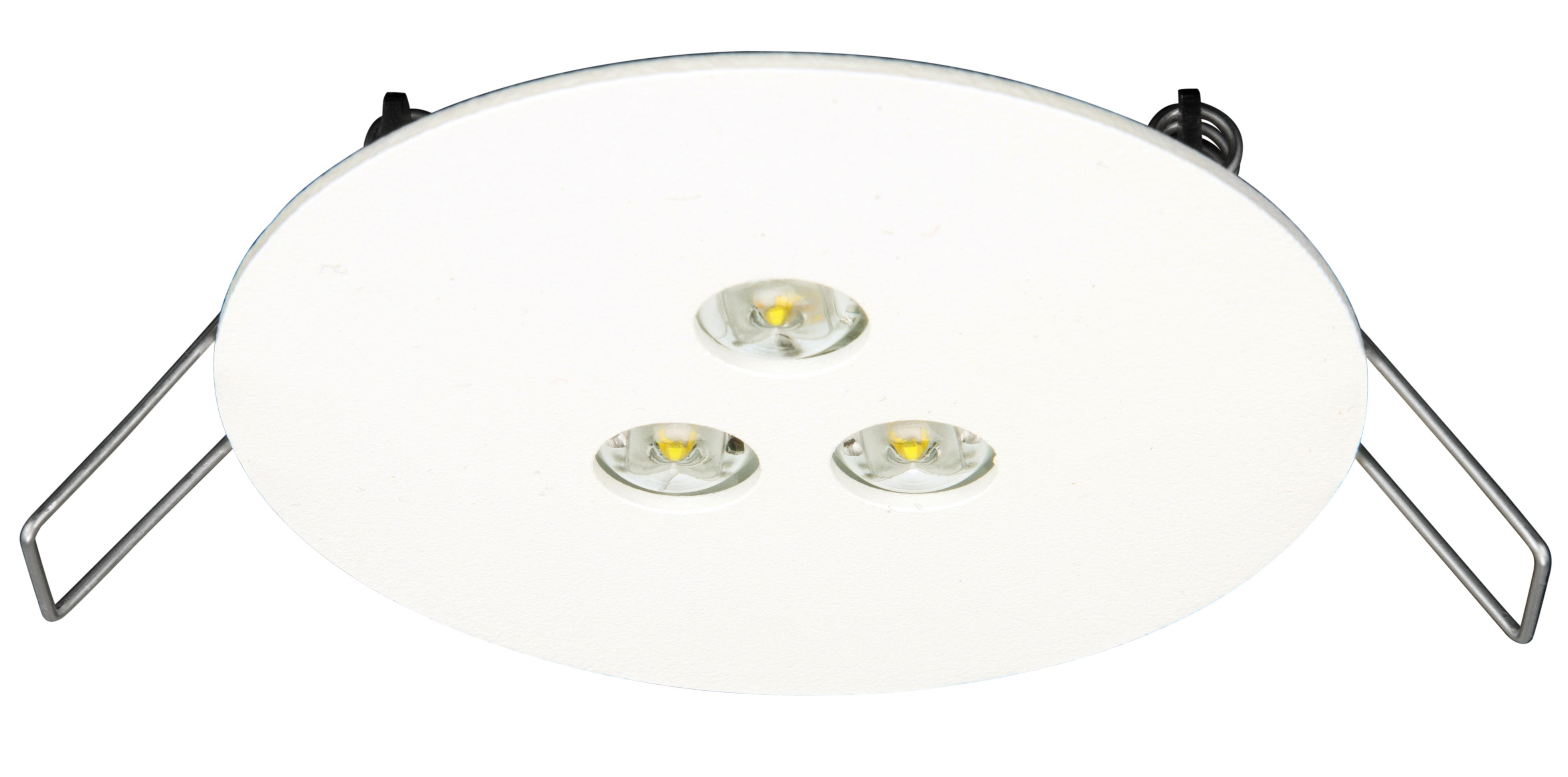 1 Stk Notleuchte DER Überwachung und Mischbetrieb ERT-LED 230V NLDER029ML