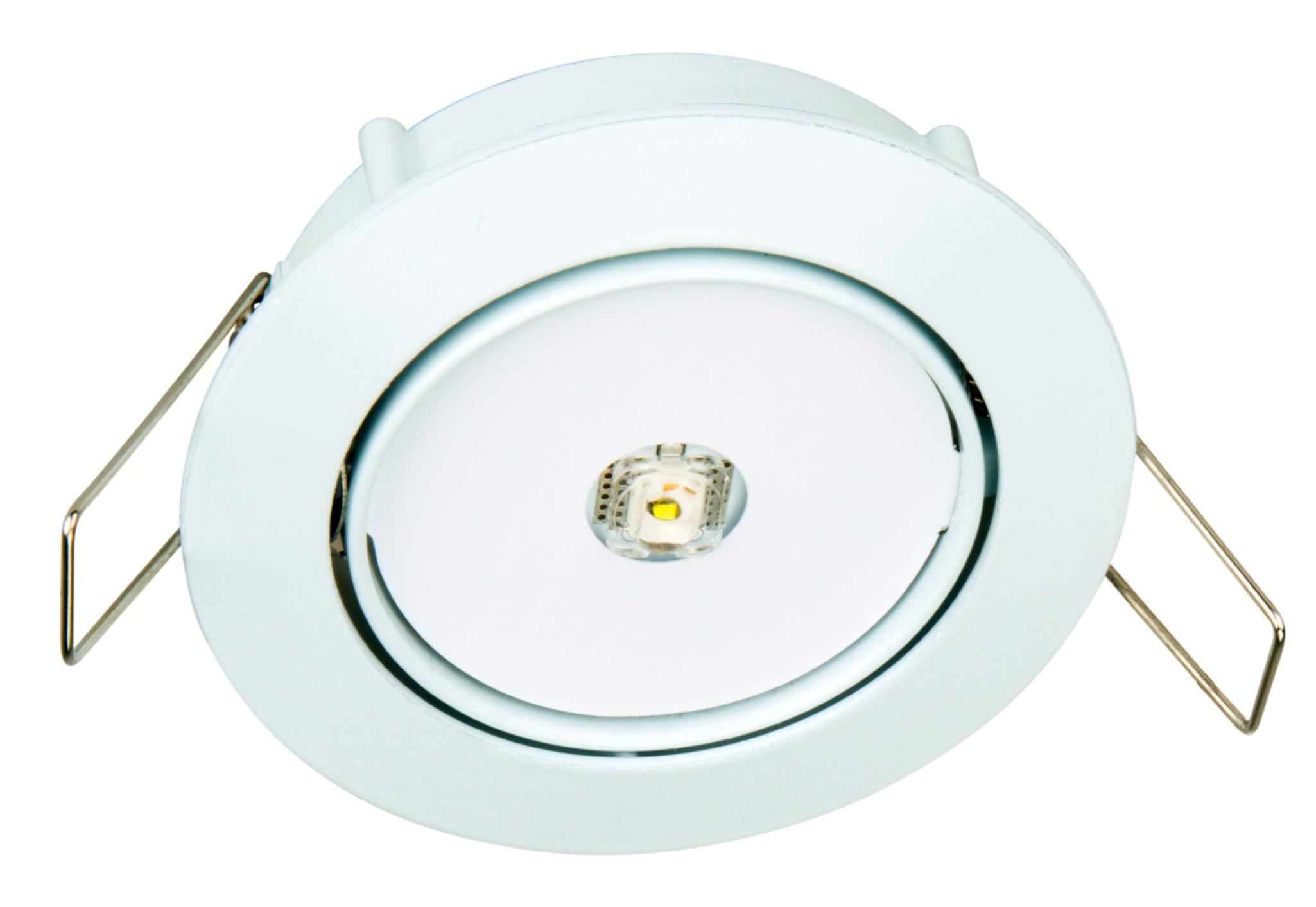 1 Stk Notleuchte DLE Wireless 1W ERT-LED 3h 230VAC, Funk schaltbar NLDLE023WL