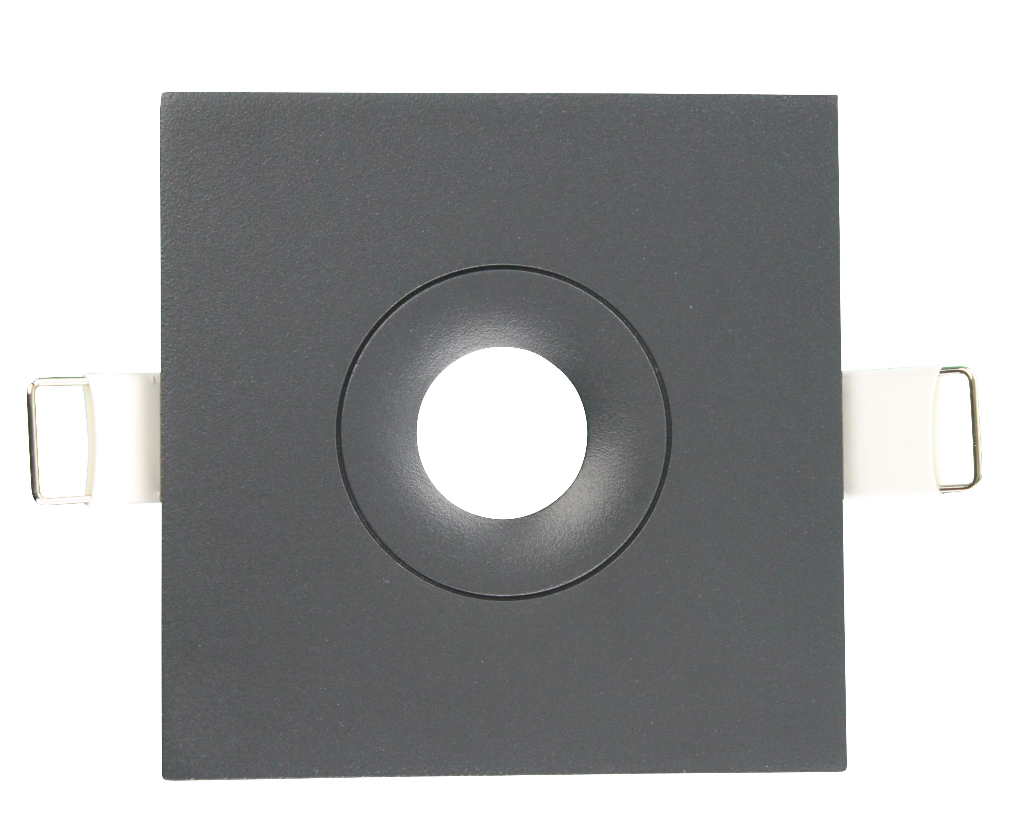 1 Stk Abdeckung für Notleuchten Design EE anthrazit quadratisch NLEEQAZ---