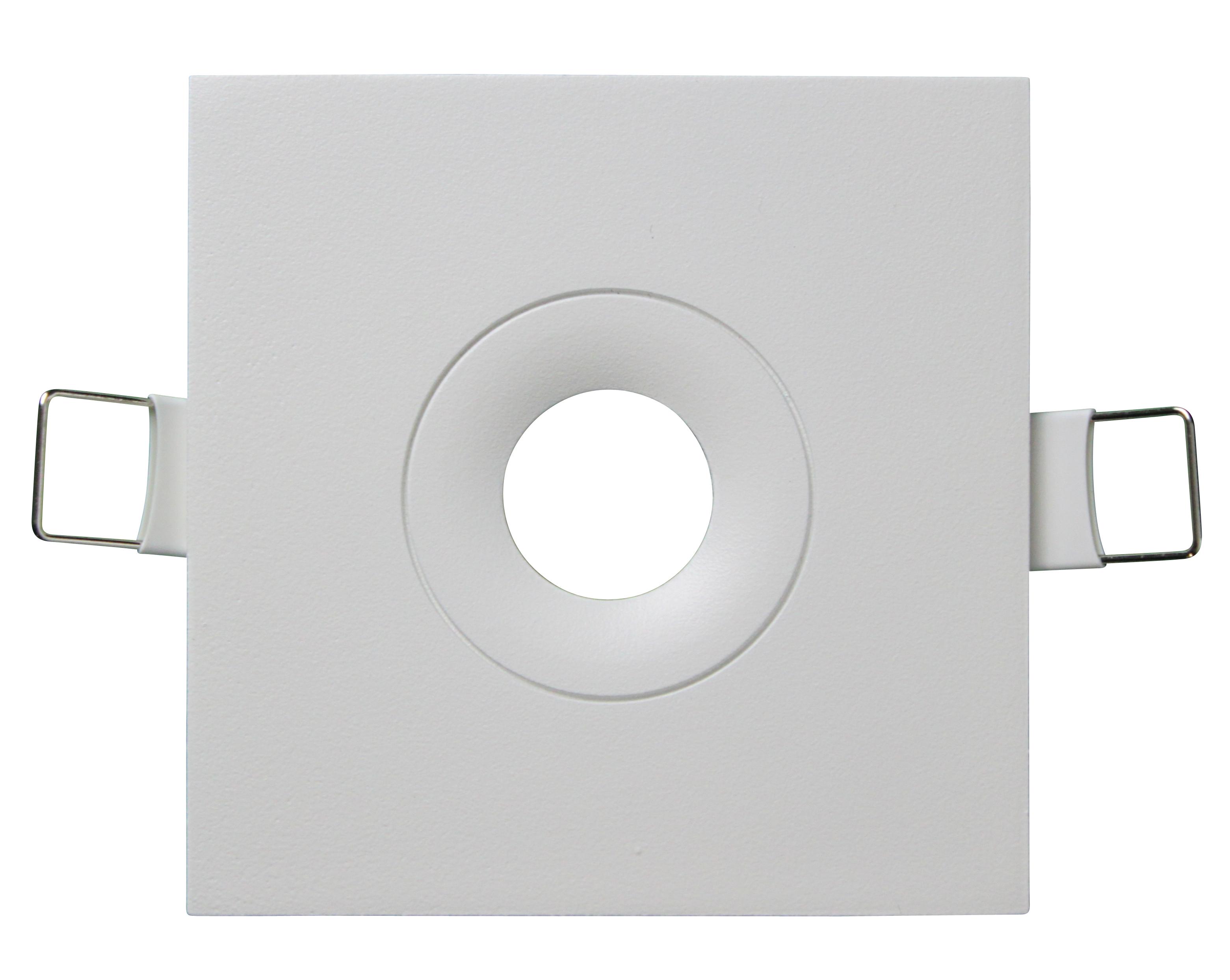 1 Stk Abdeckung für Notleuchten Design EE weiß quadratisch NLEEQWS---