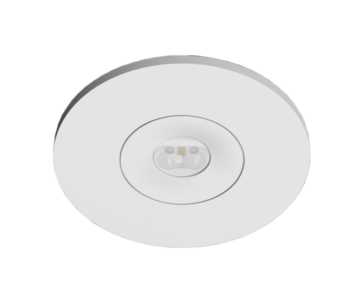 1 Stk Notleuchte EE 1x1W ERT-LED Wireless 3h 230V AC Ausl. Flur NLEERF023W