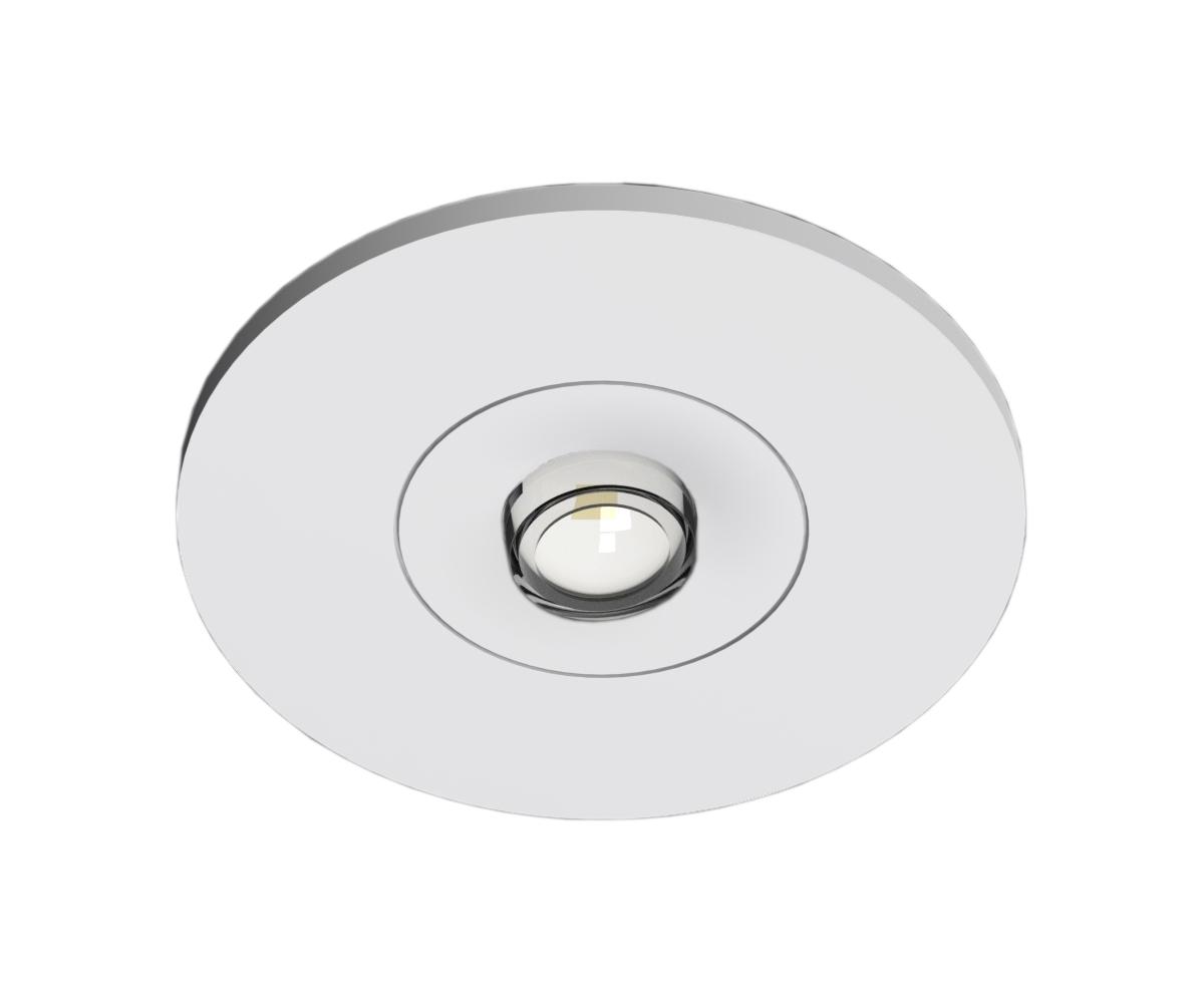 1 Stk Notleuchte EE 1x1W ERT-LED Autotest 3h 230V AC Ausl. Spot NLEERS023S