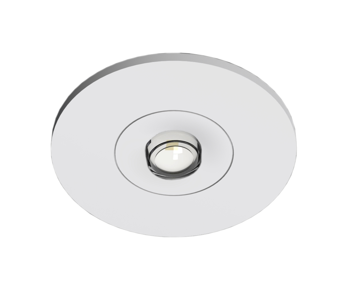 1 Stk Notleuchte EE 1x1W ERT-LED Wireless 3h 230V AC Ausl. Spot NLEERS023W