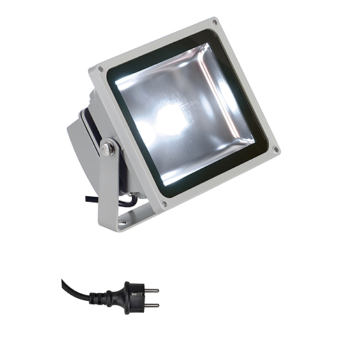 1 Stk LED OUTDOOR BEAM, 30W, 4200K, 120°, IP65, silbergrau SIBE NLFL33NW--