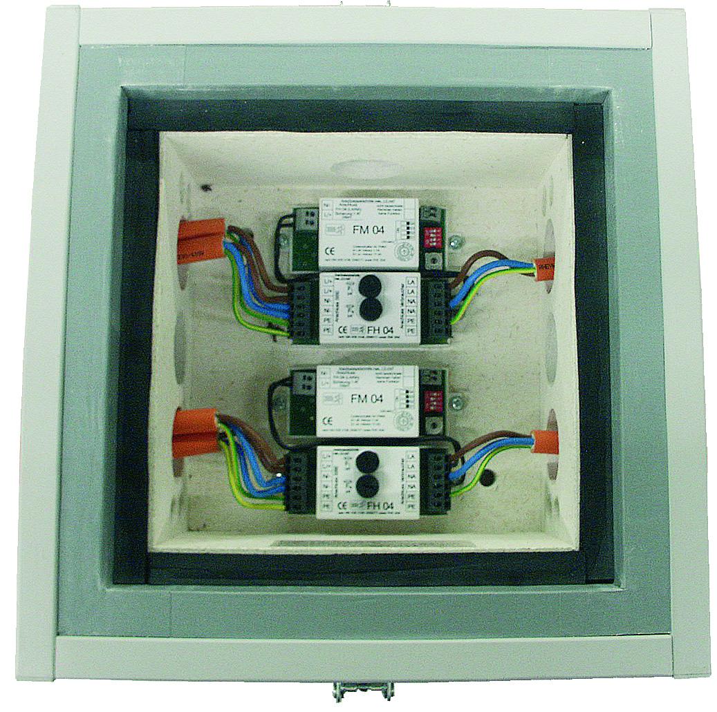 Sicherungsüberwachungssystem in E30 312 x 312 x 168mm