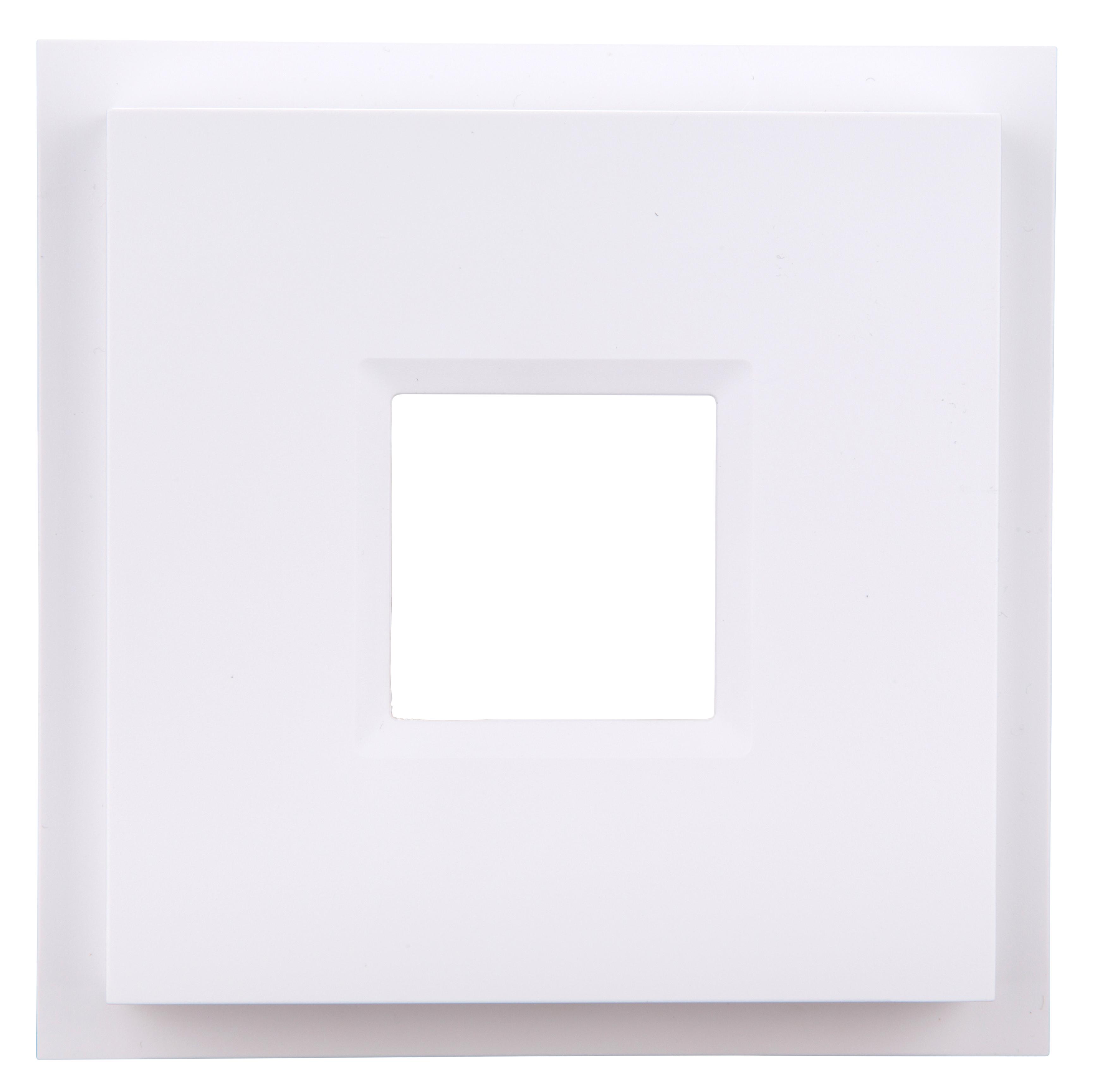 Quadratisches Überschubgehäuse B2 für Notleuchten NLILD..