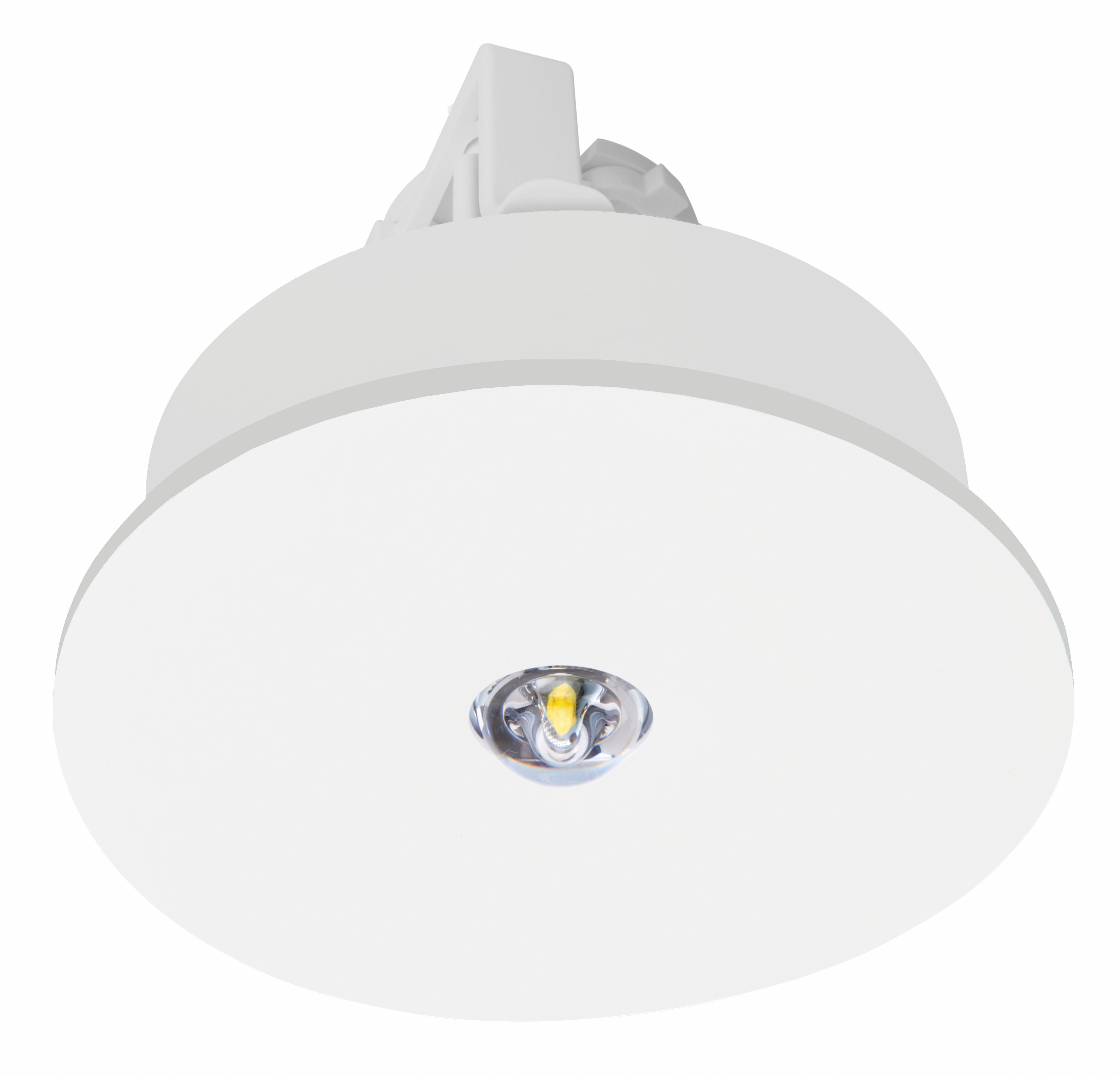 1 Stk Notleuchte IL Autotest 1x3W ERT-LED 3h 230VAC rund NLILER023S
