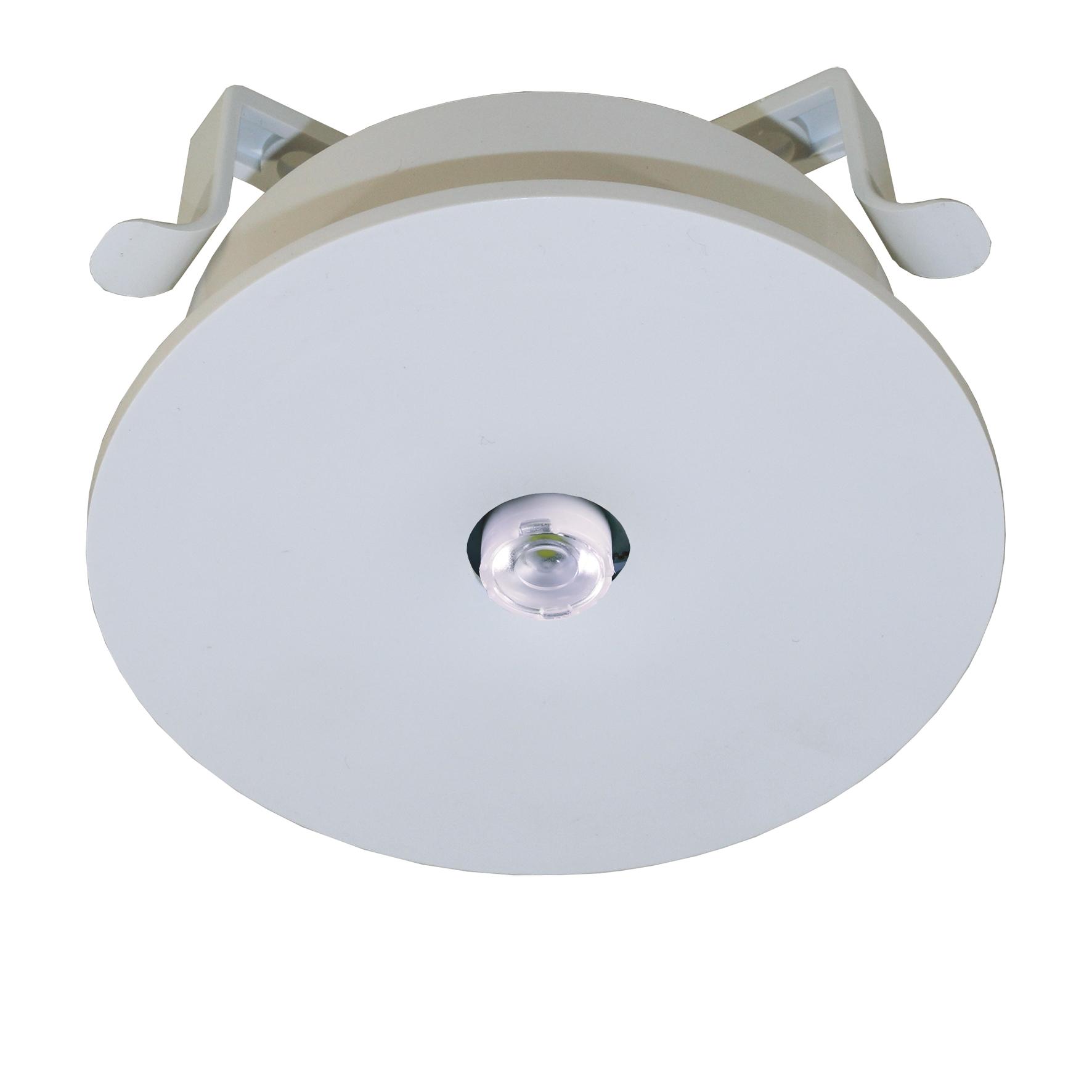 1 Stk Notleuchte IL  1x3W ERT-LED 230V EL Spot Deckeneinbaumontage NLILES029E