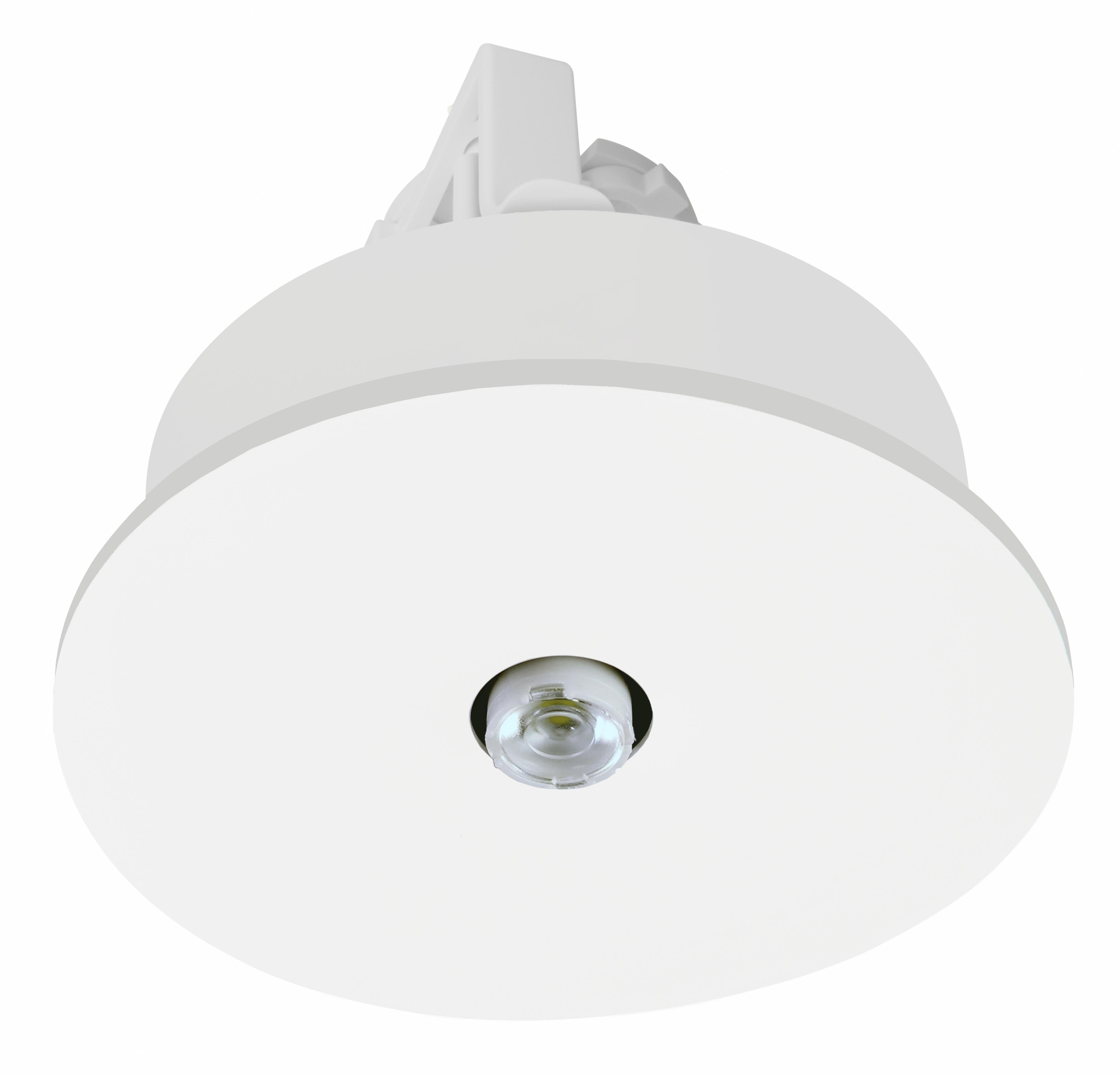 1 Stk Notleuchte IL  ERT-LED 1x3W 230V Spot Einbaumontage NLILES029M