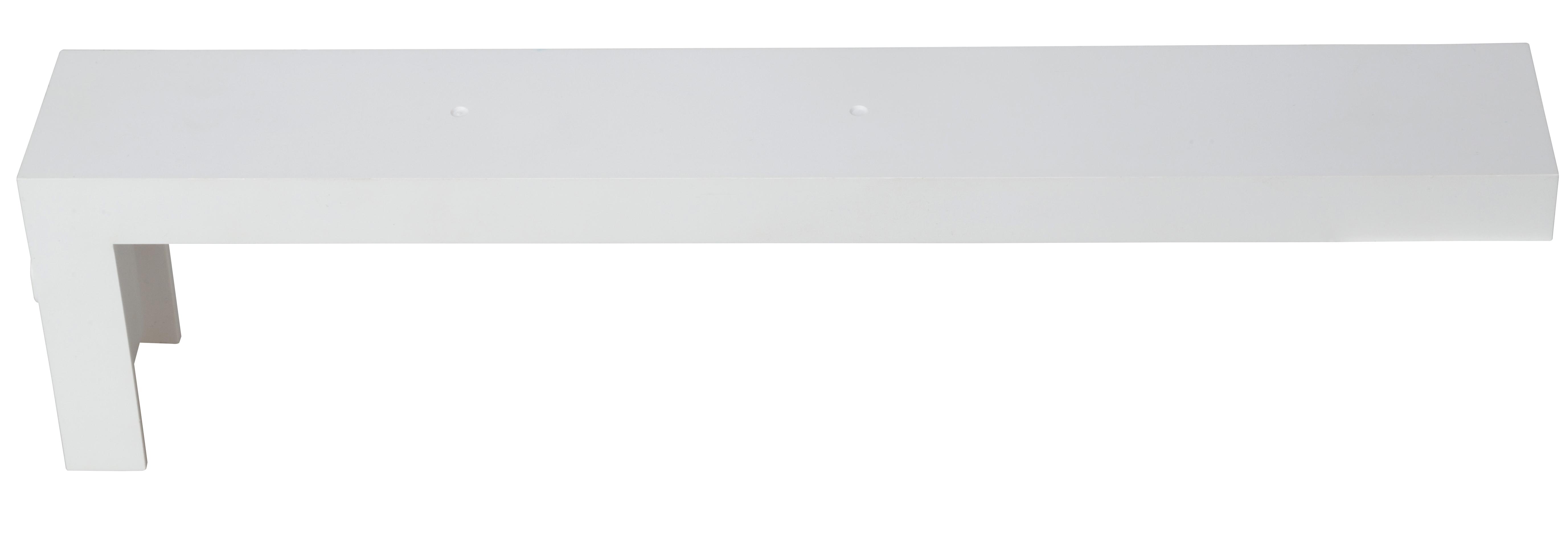 1 Stk Wandausleger weiß für Notleuchten Design K1, K2 und K3 NLK1AW----