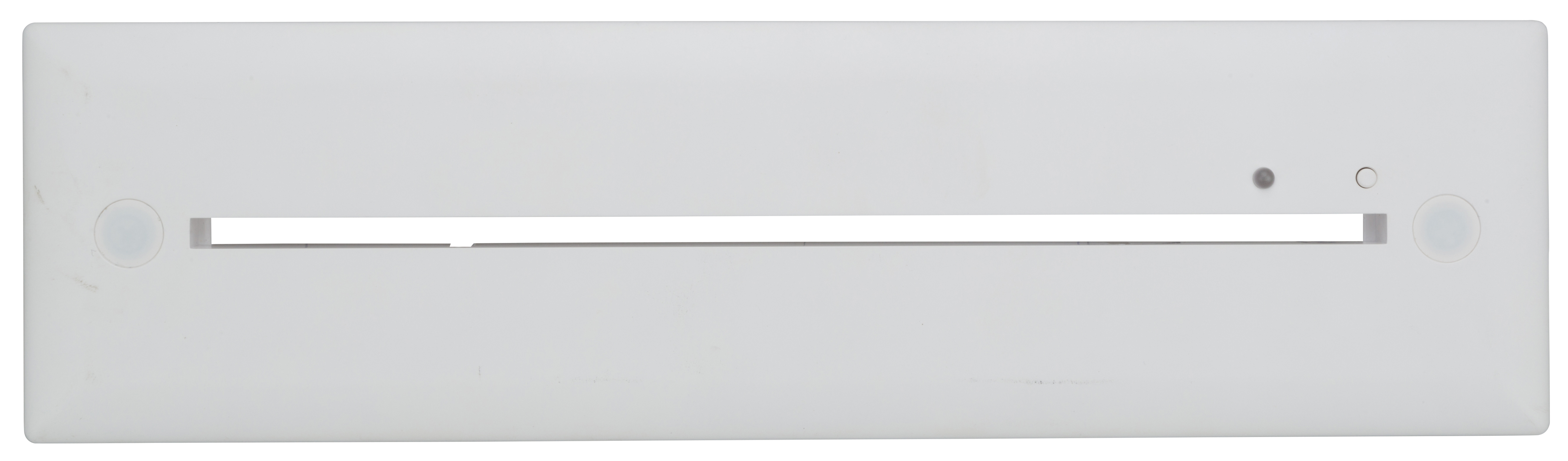 Einbaurahmen weiß für Notleuchten Design K2