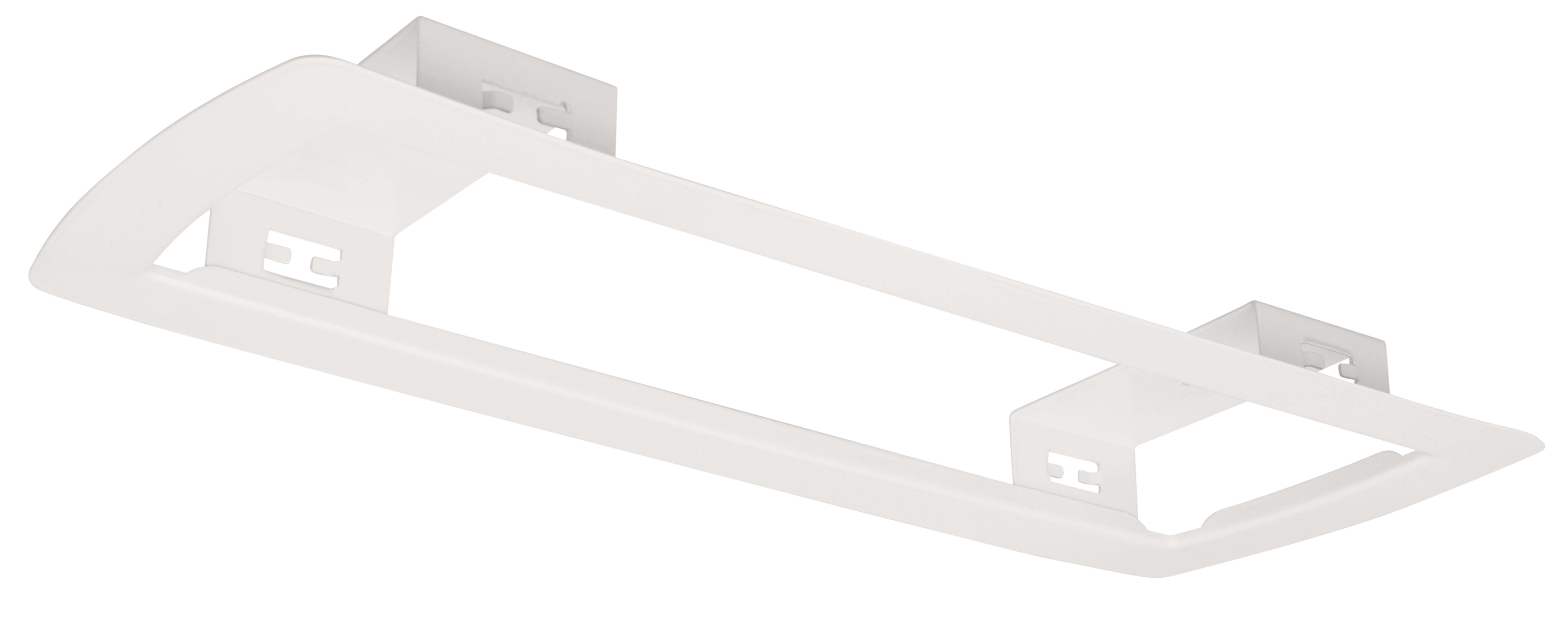 1 Stk Deckeneinbaurahmen weiß für Notleuchten Design K5 NLK5E-----