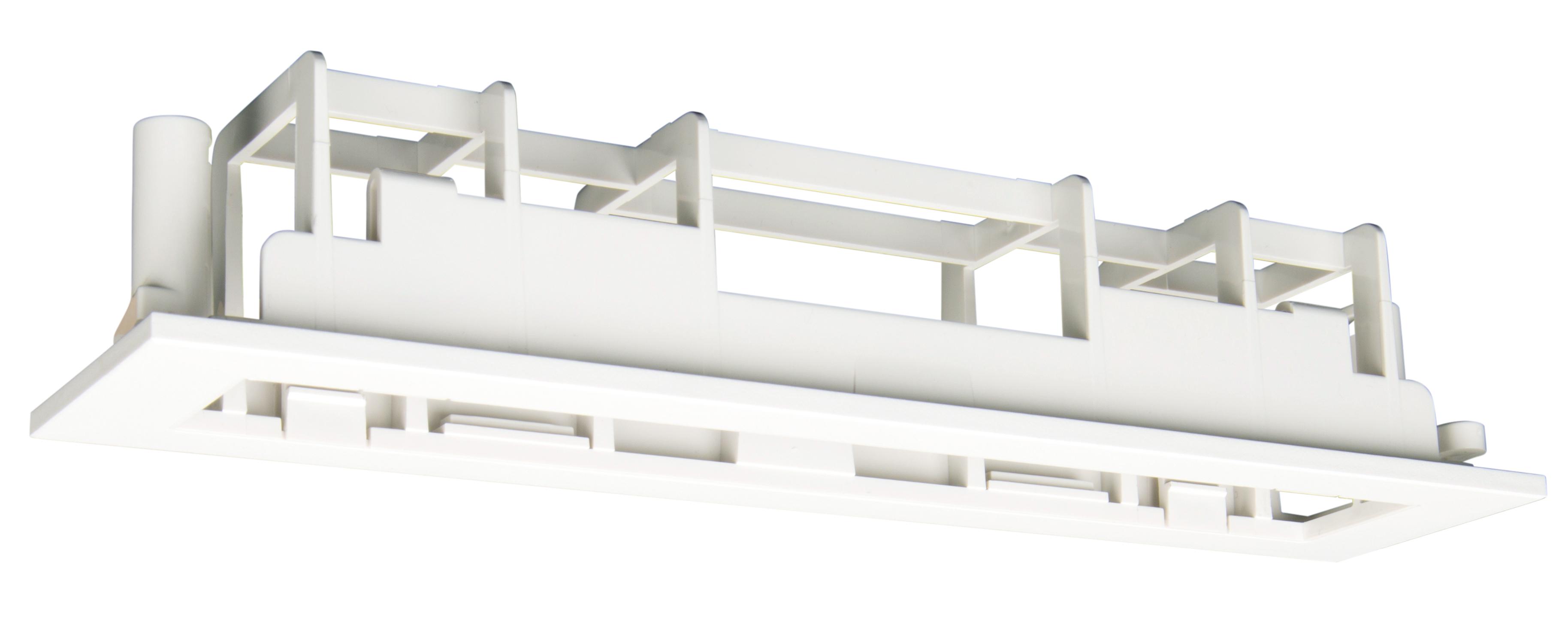 1 Stk Einbaurahmen für Zentralbatterienotleuchten Design KM, KS NLKME-----