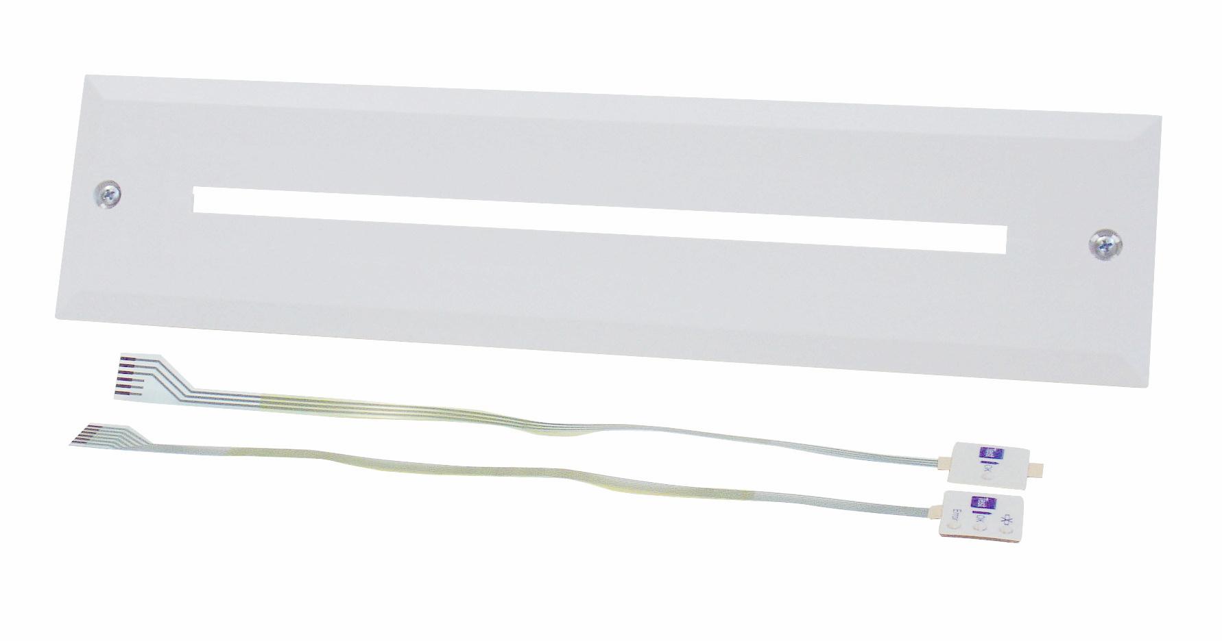 1 Stk Einbaurahmen für KX mit schmalem Ausschnitt NLKXE-EB--